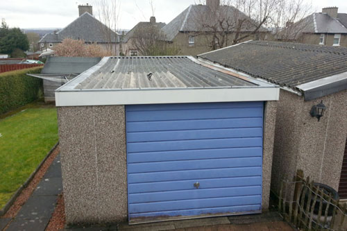 Asbestos Garage Roof Repair Examples Asbestos Garage